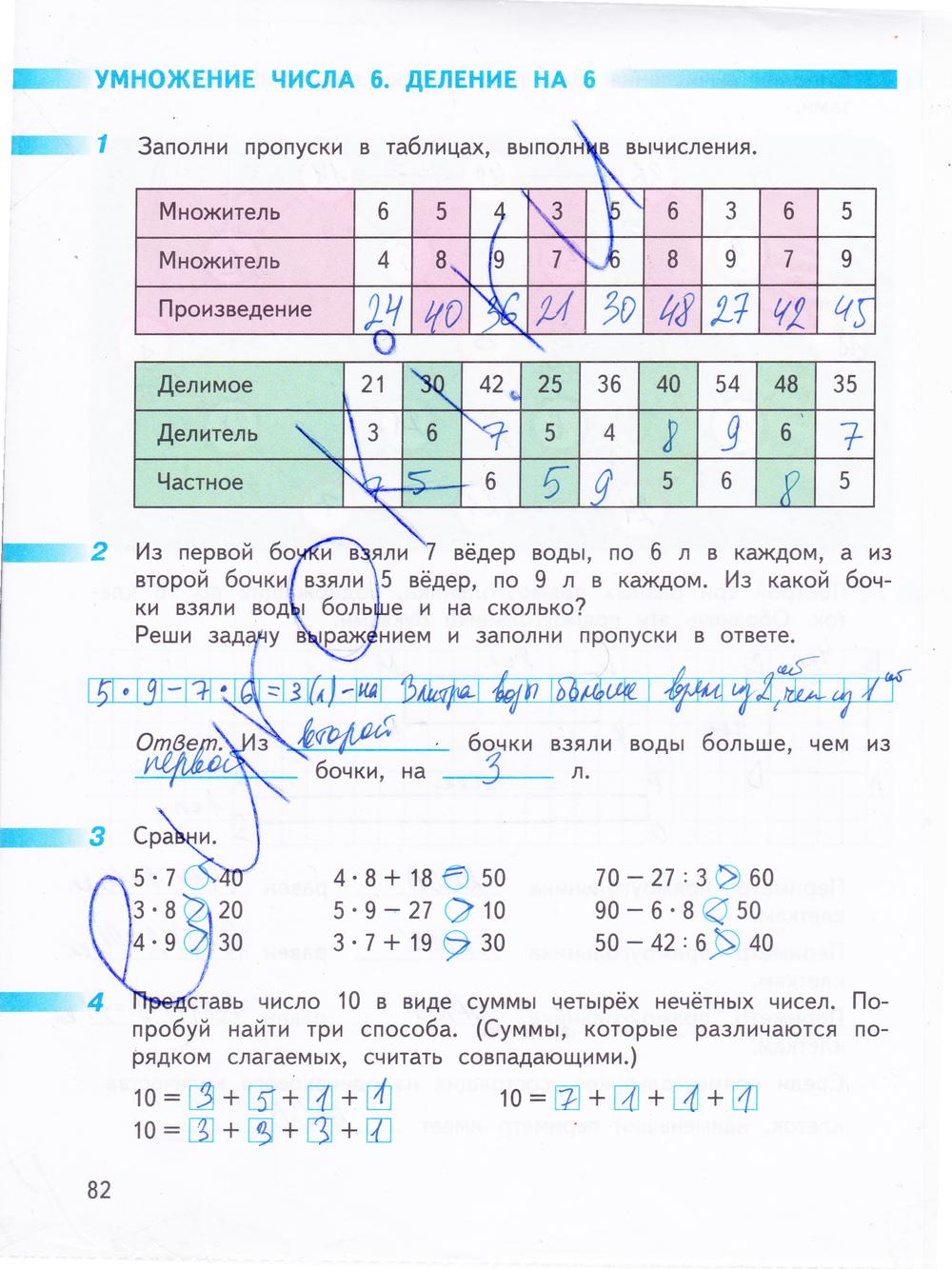 Математике 4 т. гдз по б.бука класс