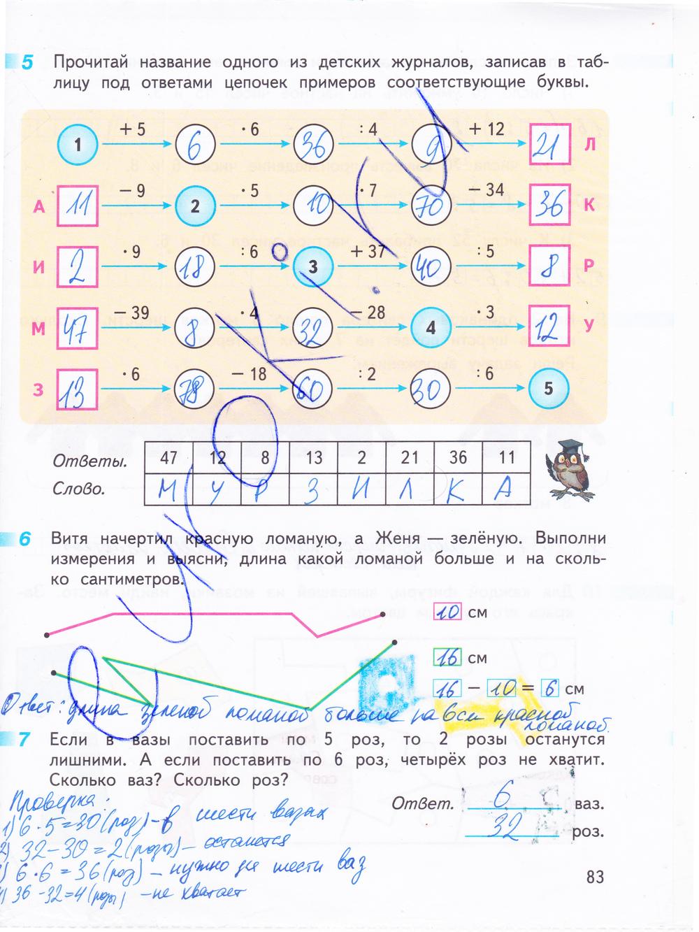 Гдз По Математике Рабочая Тетрадь 4 Класс Г.в Дорофеев Т.н Миракова Т