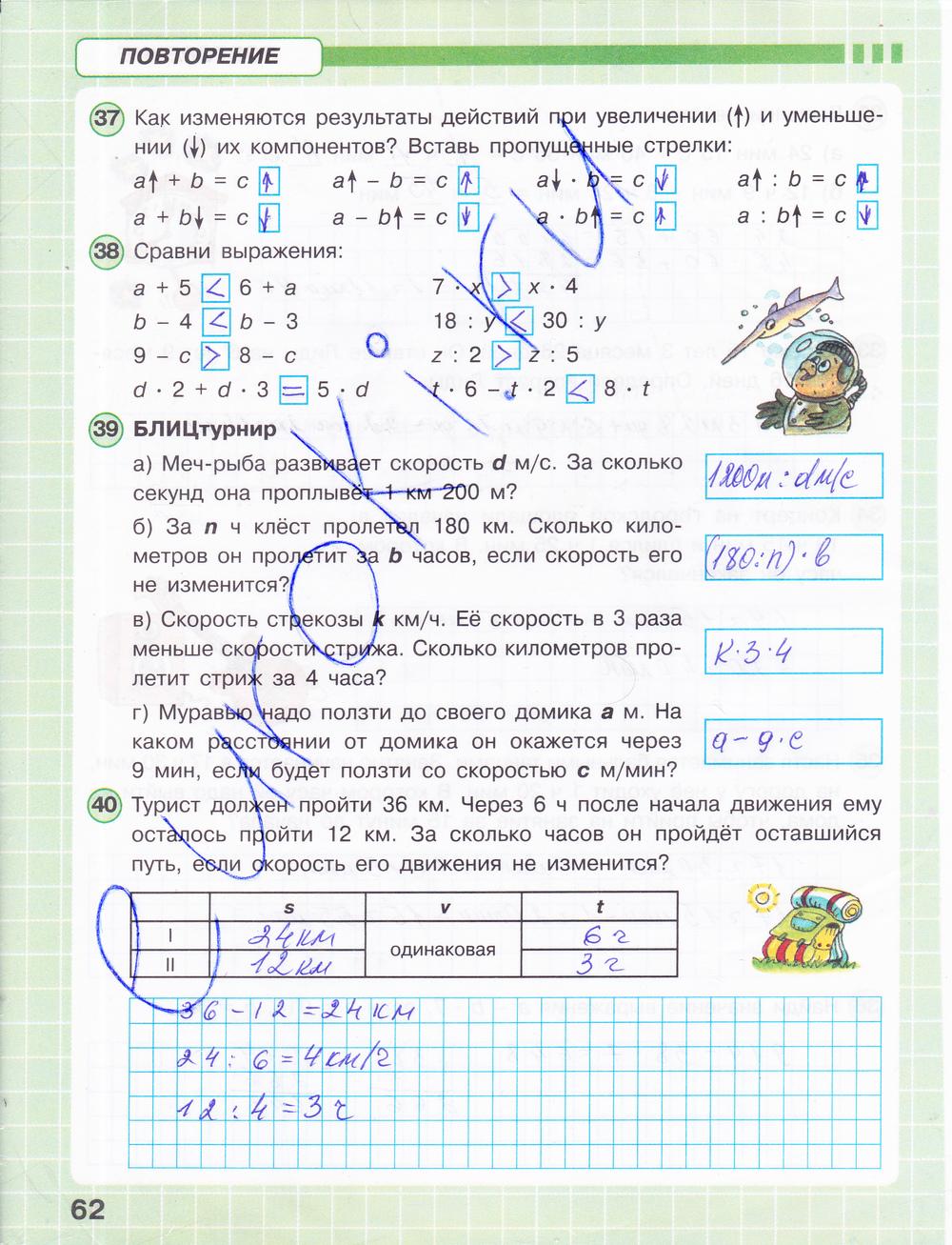 Все Гдз Рабочая Тетрадь По Математике 3 Класс Петерсон