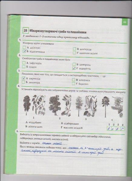 Гдз 6 Класс Биология Задорожный Робочий Зошит
