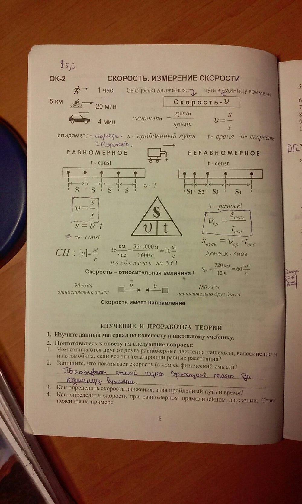 гдз физика 7 класс лифарь