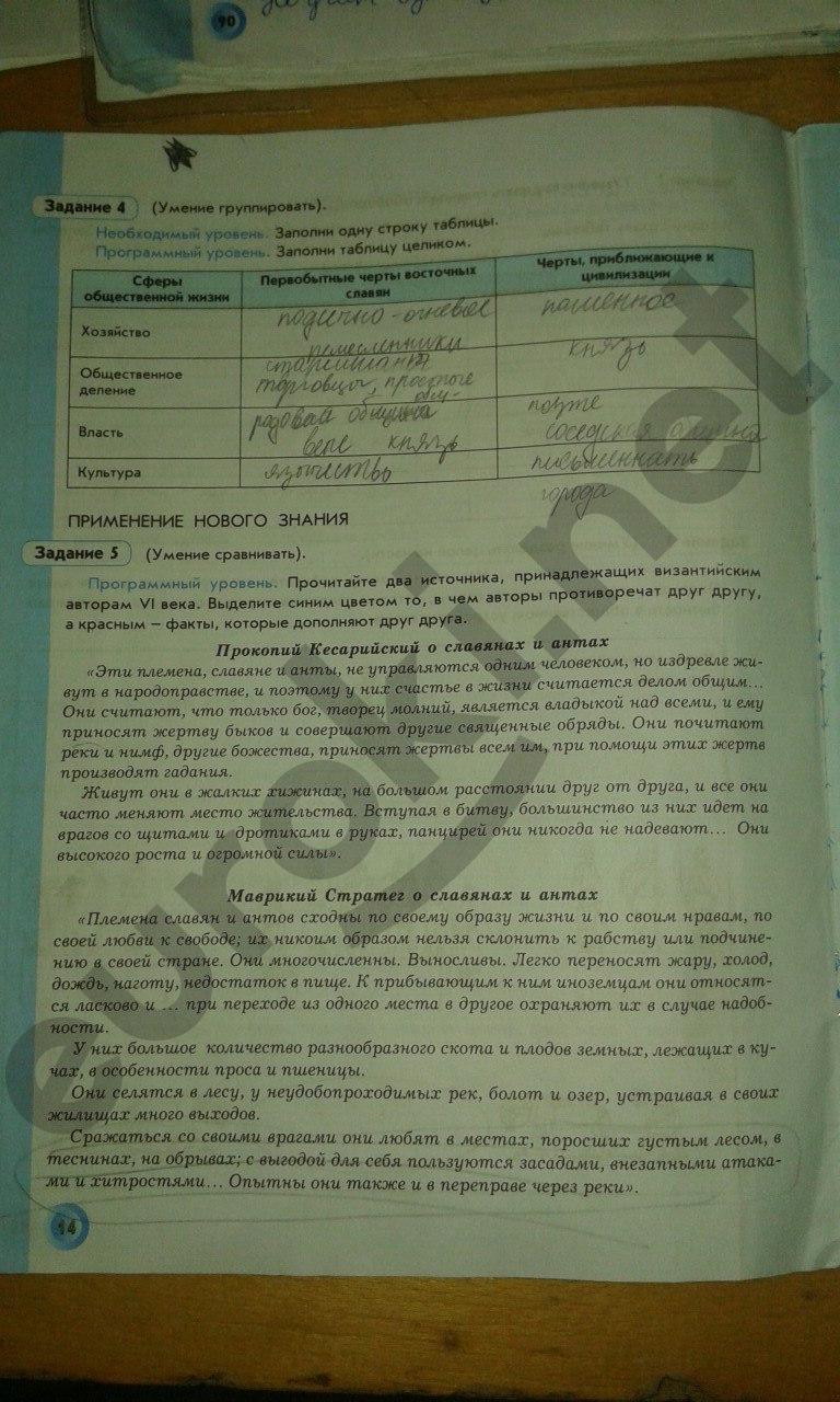 класс давыдова по 8 истории за данилов россии гдз рабочая тетрадь