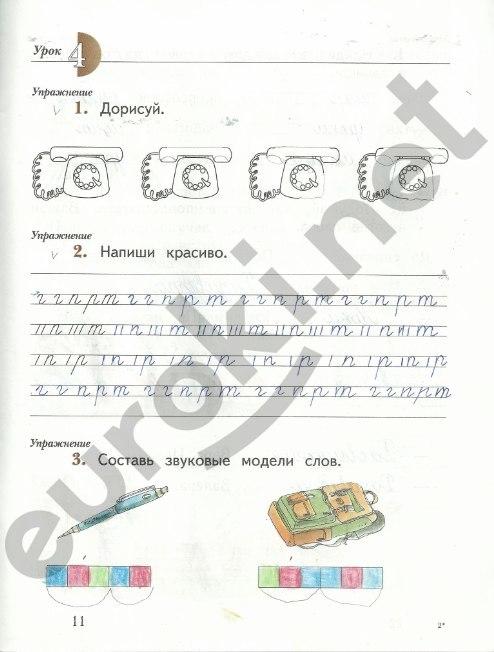по часть тетрадь русскому 3 рабочая евдокимова класс гдз 2