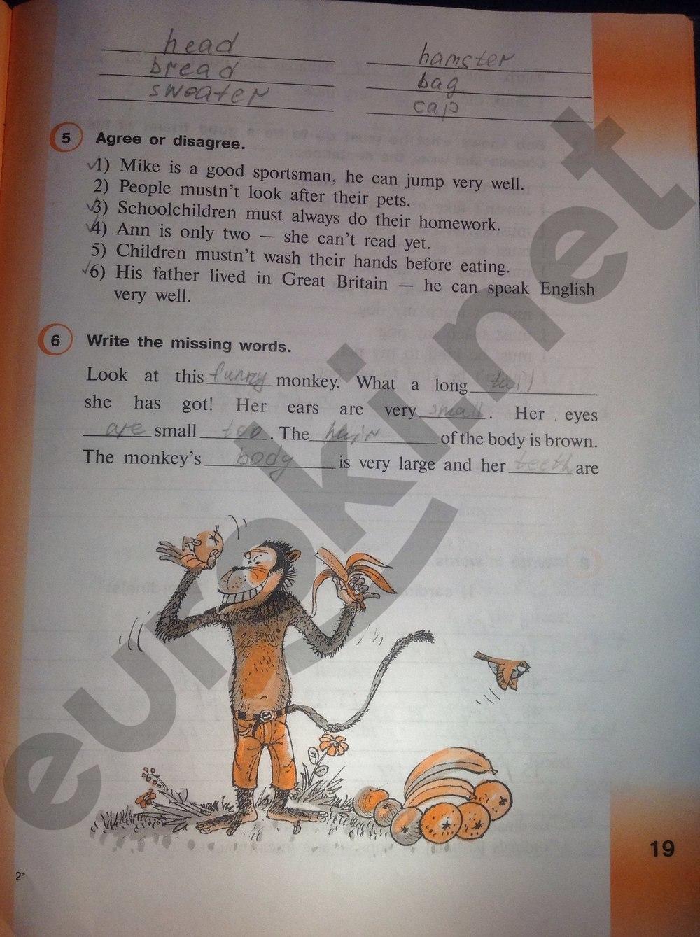 скачать гдз по английскому 5 класс рабочая тетрадь верещагина