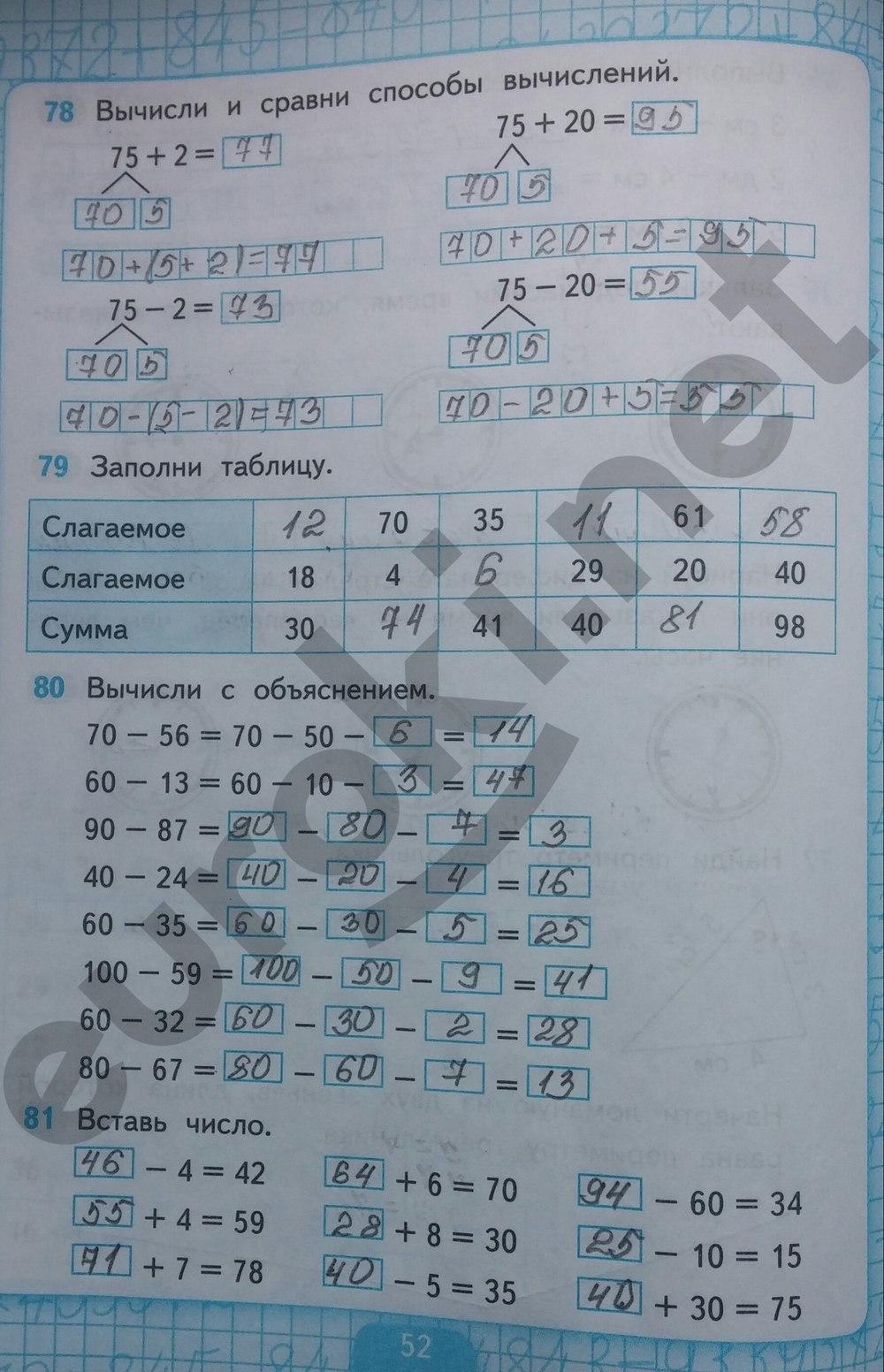 гдз по математике 2 кремнева