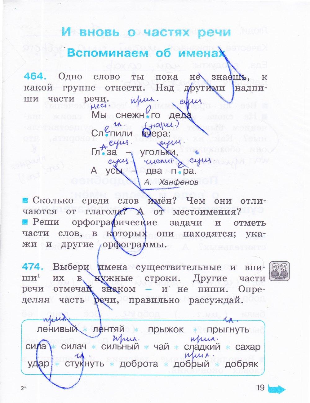 по соловейчик гдз ответы 2 3 кузьменко языку русскому класс часть решебник гдз