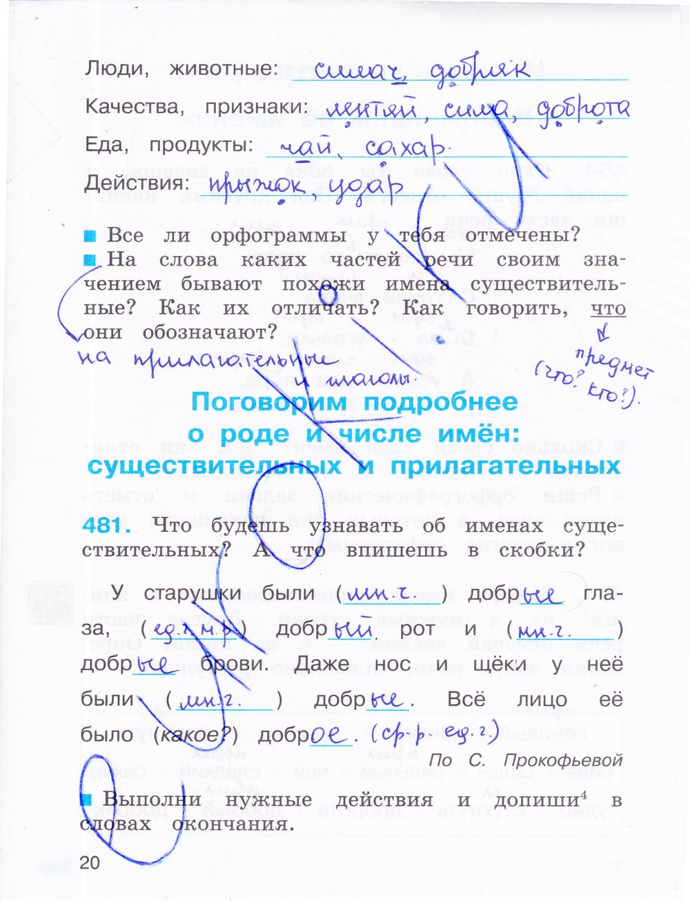 гдз 2 класс русский язык соловейчик кузьменко 2 часть упражнение