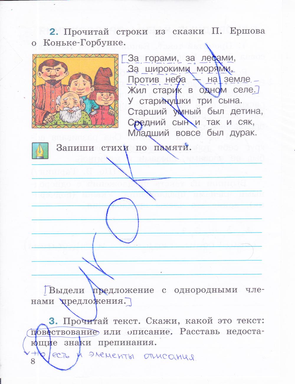 Русскому гдз класс по зеление хохлов 4