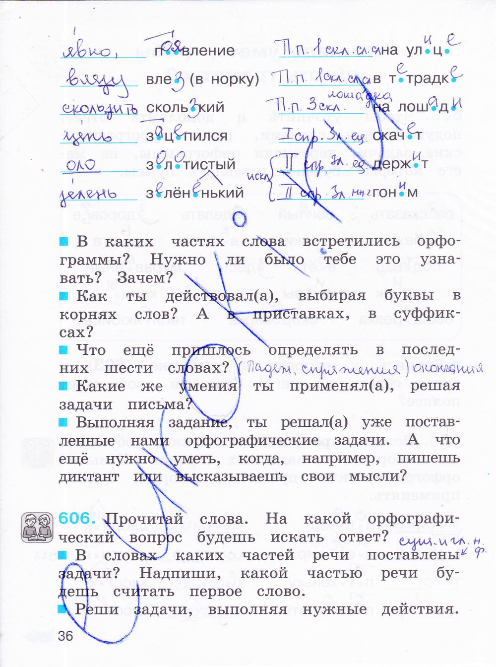 Гдз Русский Язык 4 Класс Соловейчик Рабочая Тетрадь Ответы