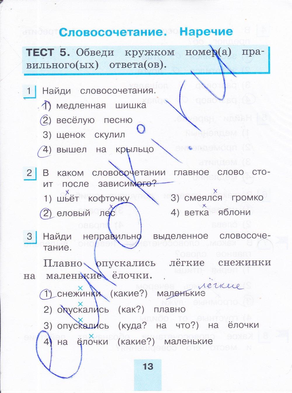 Гдз по русскому языку потренируйся 2 класс