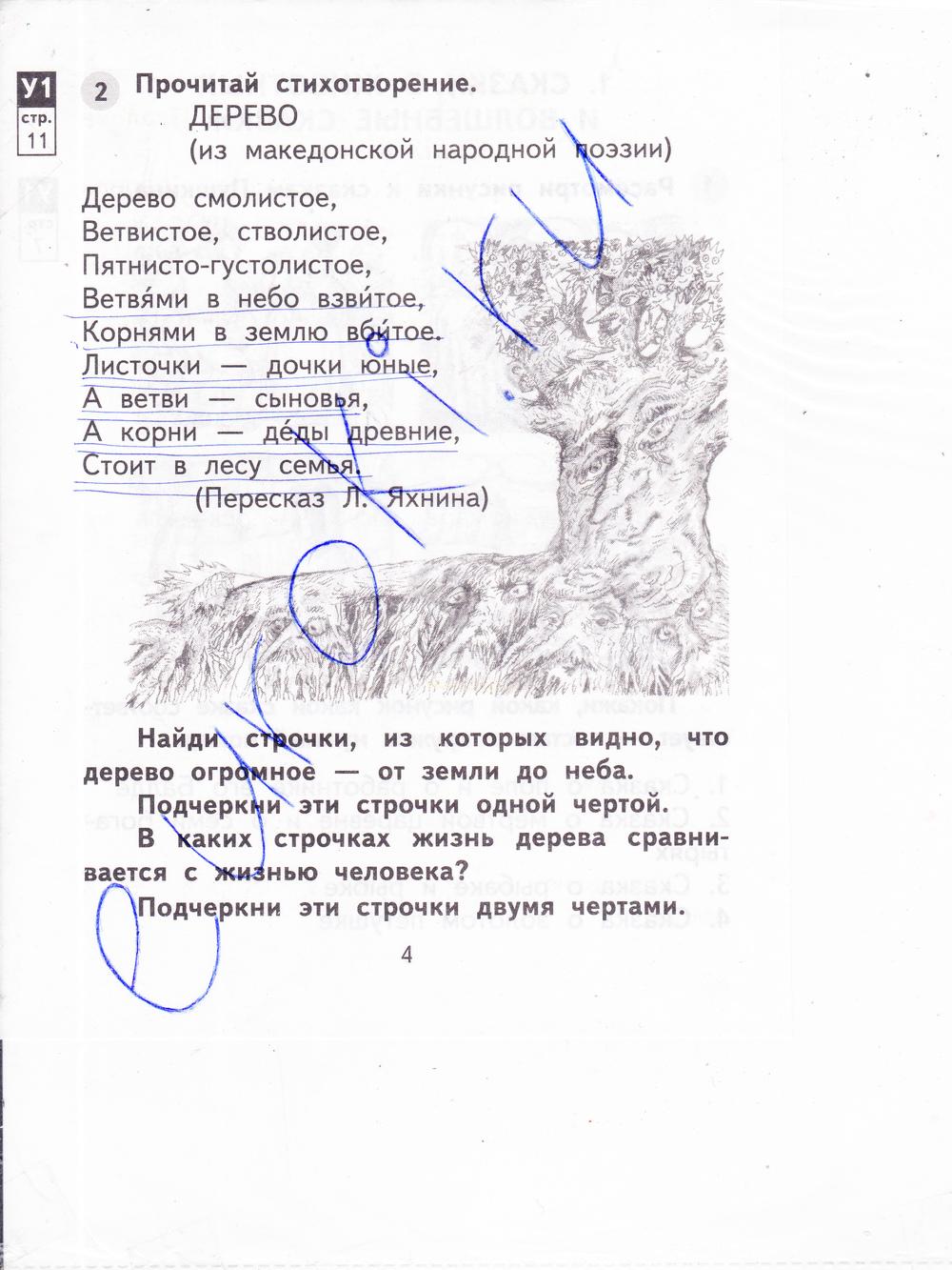 Гдз По Литературному Чтению 4 Класс 2 Часть Малаховская Рабочая Тетрадь