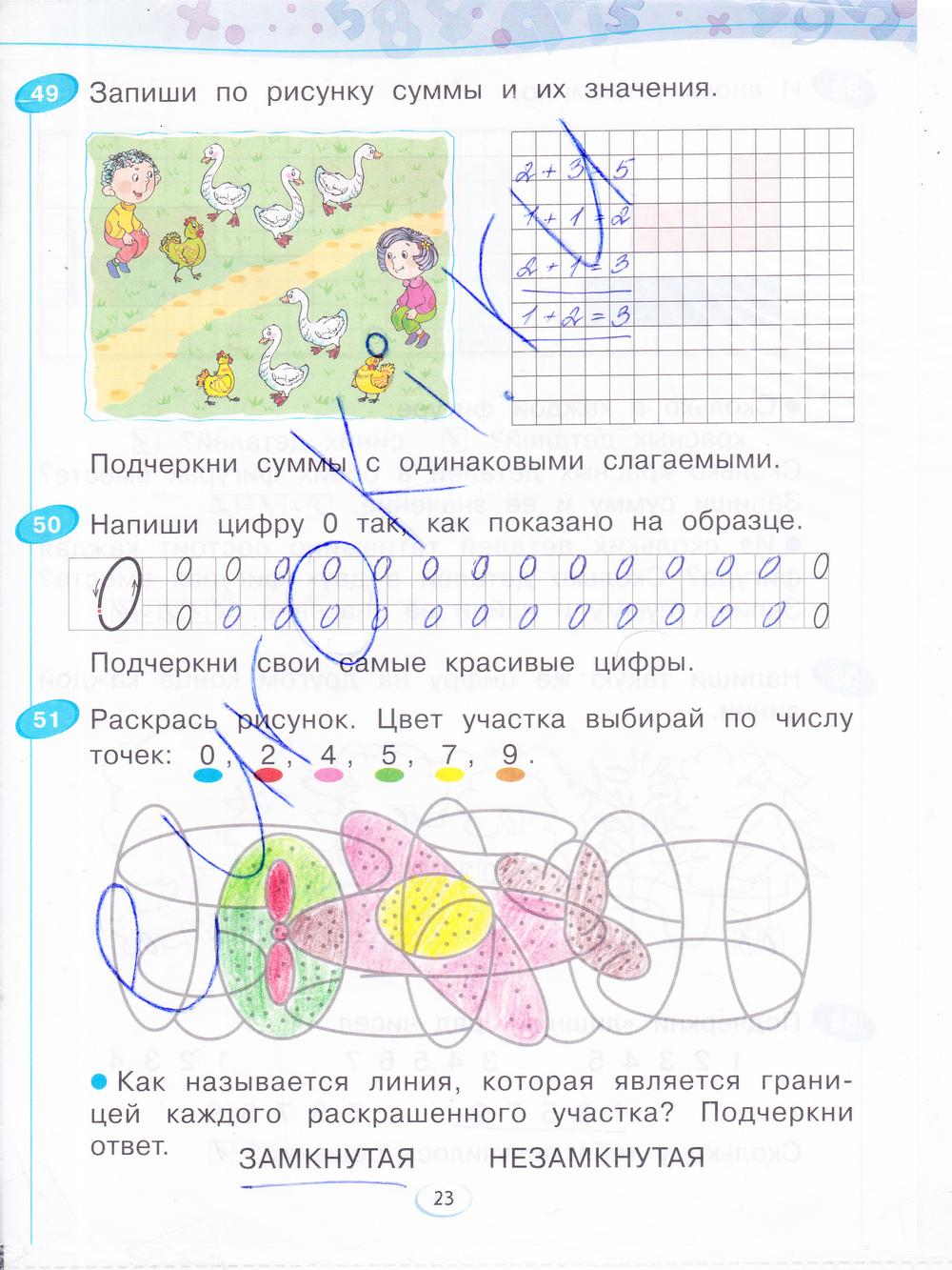 Решебник По Математики 1 Класс Рабочая Тетрадь Бененсон
