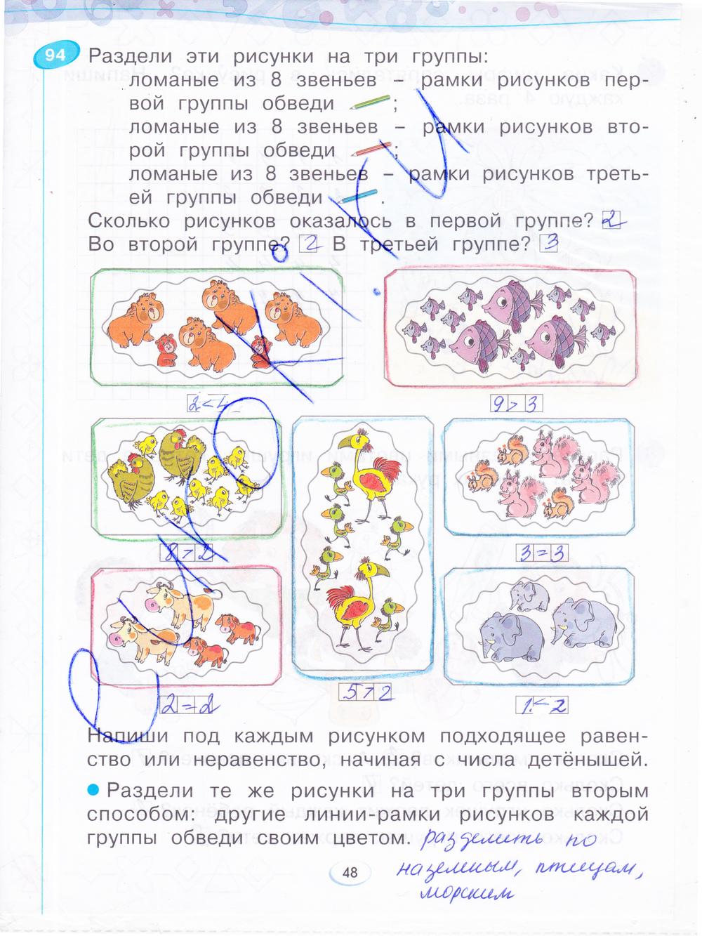 Решебник По Математике 1 Класс Бененсон Ответы