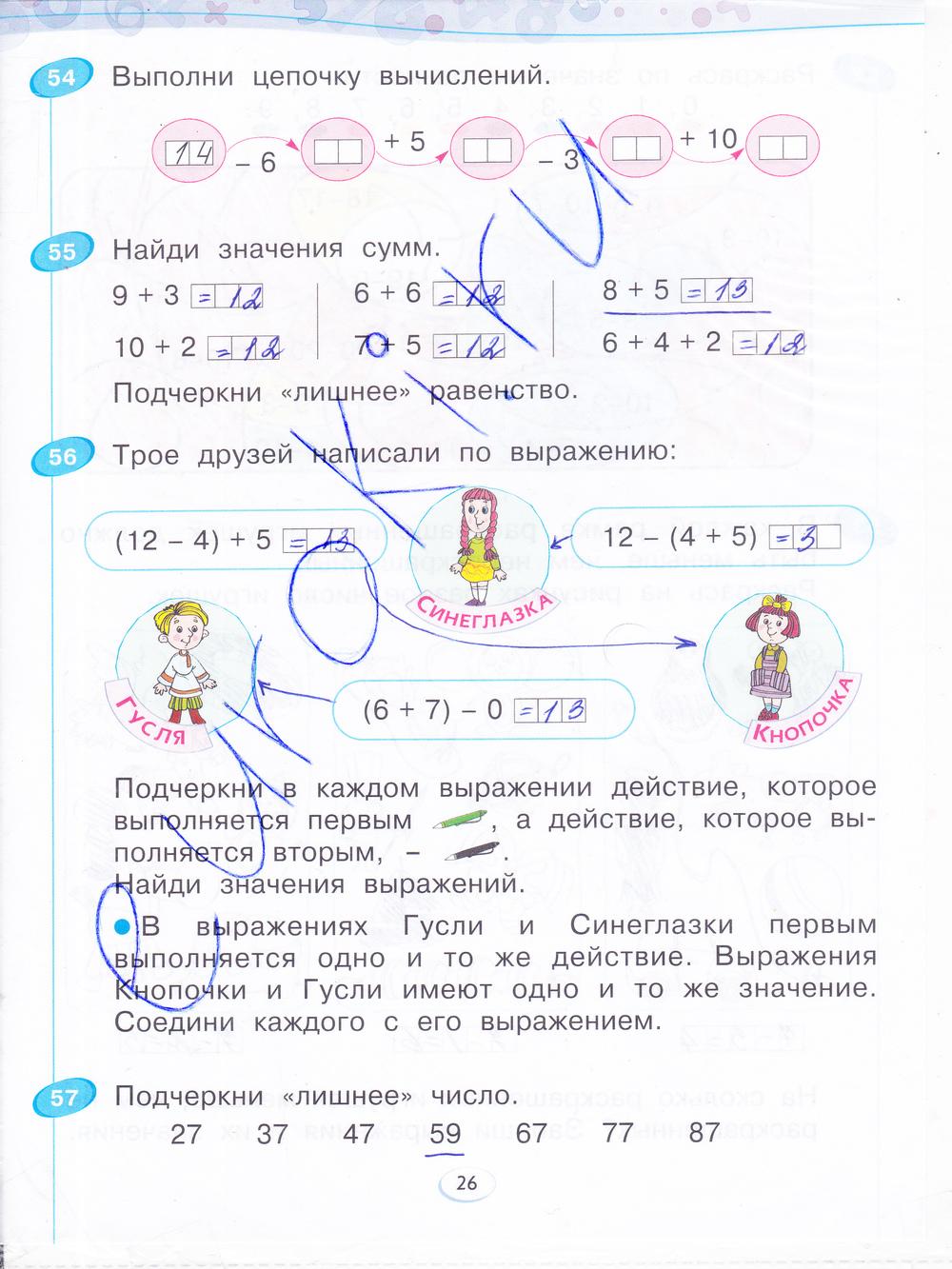 Гдз По Математике 1 Класс Бененсон Итина