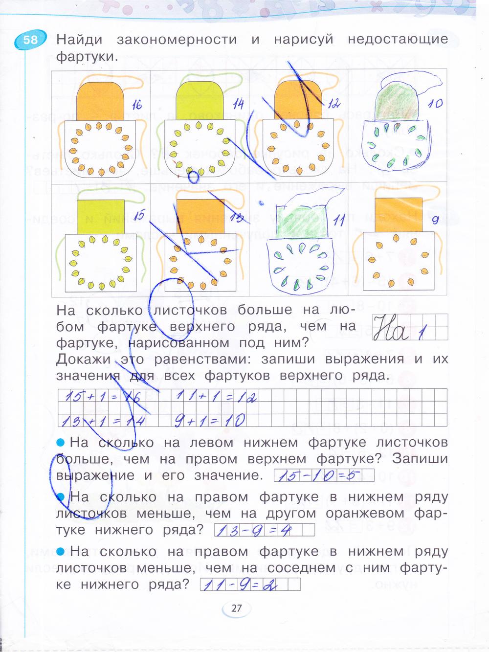 ГДЗ по математике 4 класс Бененсон Итина рабочая тетрадь решебник