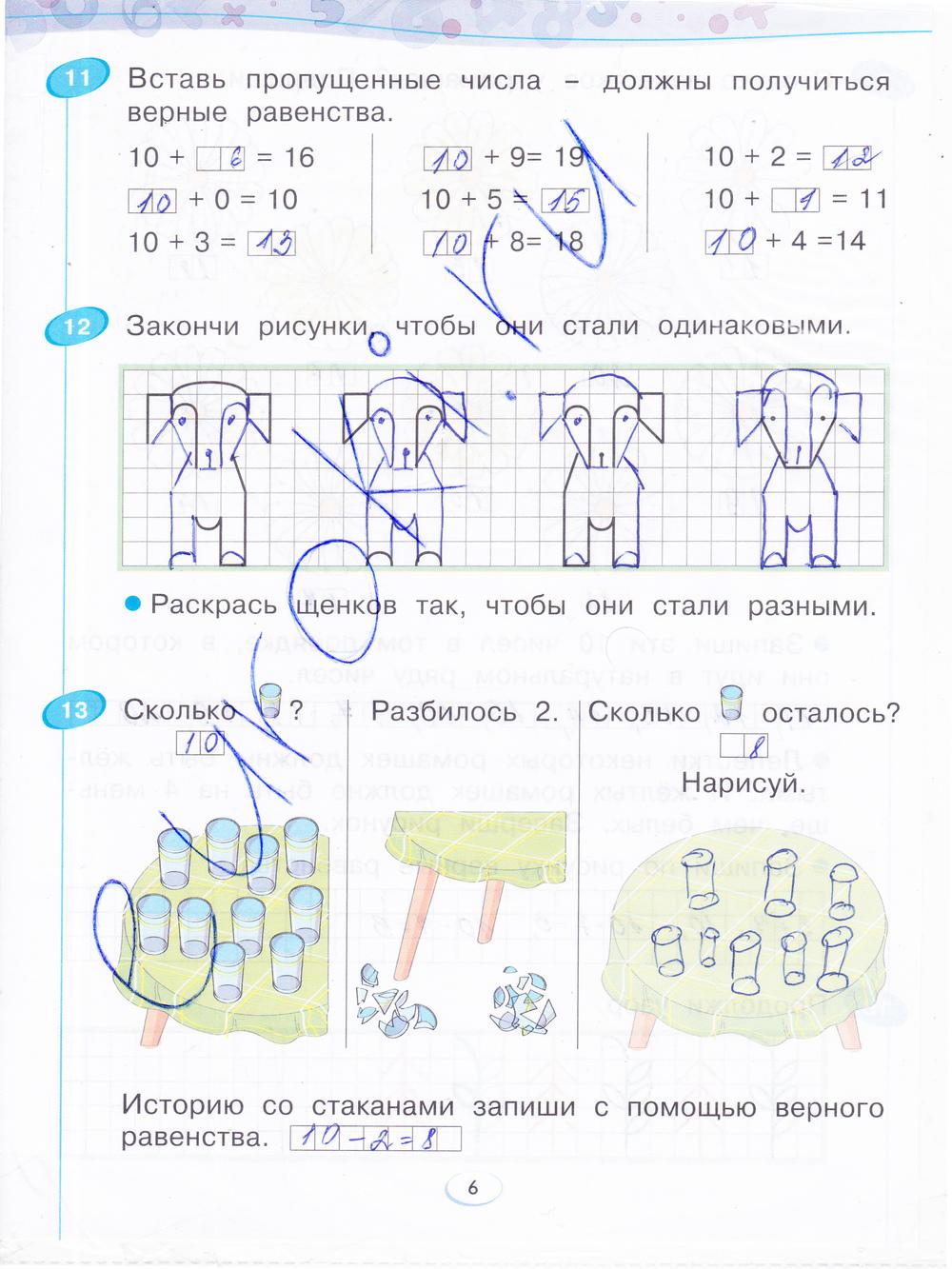 Гдз бененсон итина математика тетрадь для 3 класса