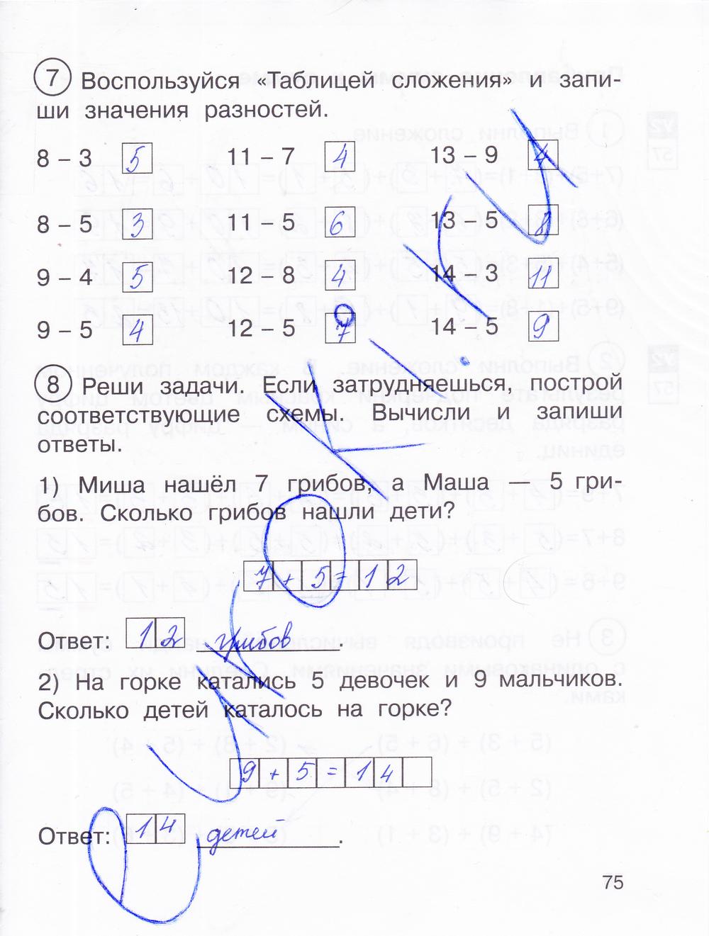 Гдз Математика 4 Класс Е П Юдина 1 Часть