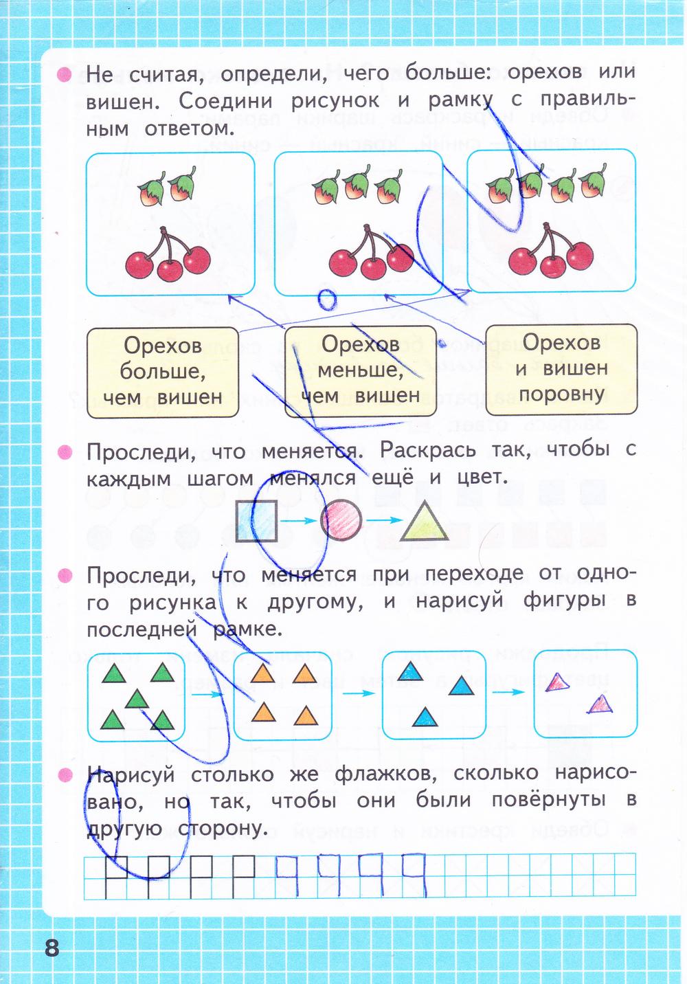Гдз 2 класс математика 1 часть моро и волкова