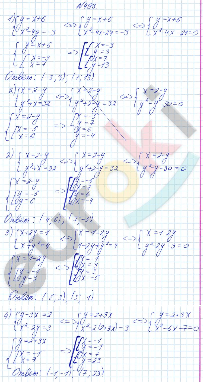 алгебре 8 по решебник просвещение