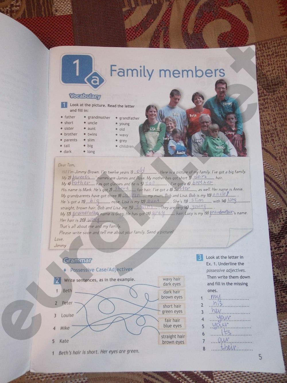 страница английскому 6 12 класс языку гдз по