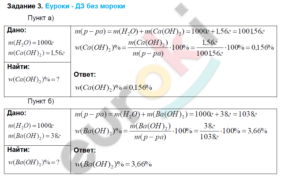 Решебник по химии 9 класс рудзитис просвещения