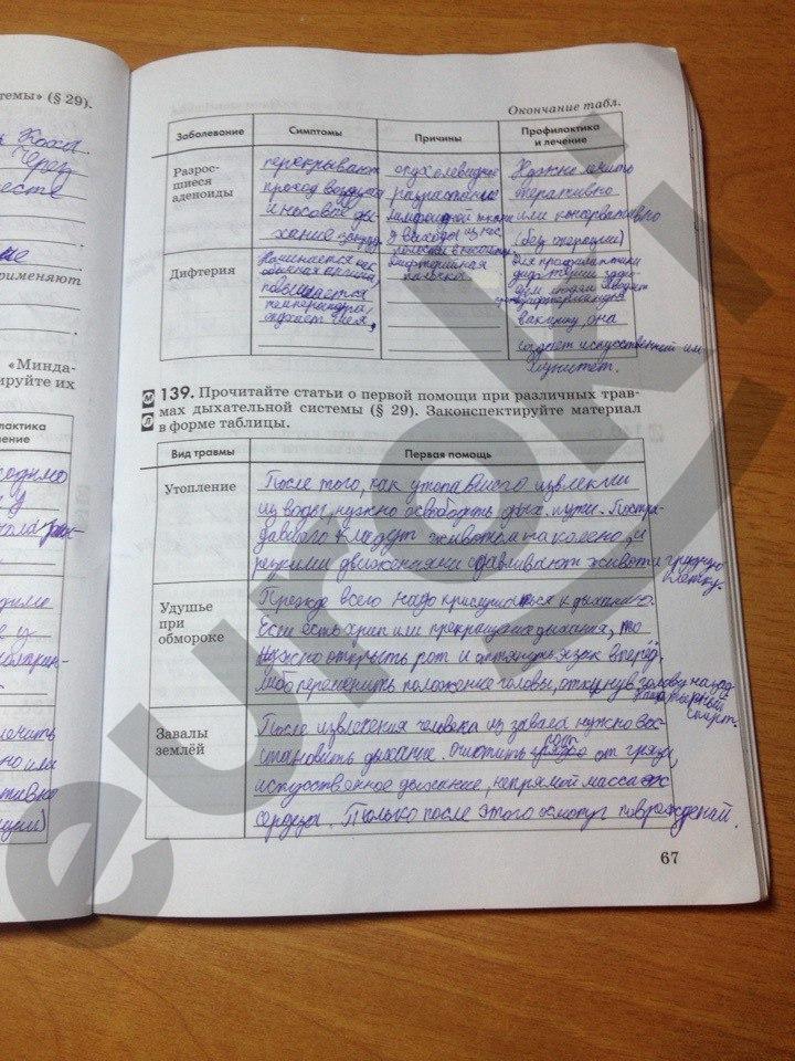 Гдз Колесов Маш Беляев 8 Класс