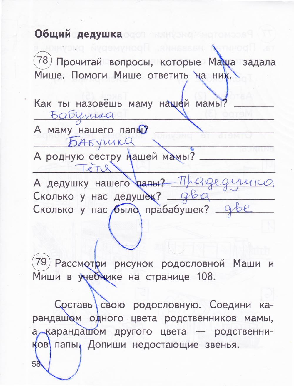 Гдз По Окружающему 2 Класс Рабочая Тетрадь Федотова