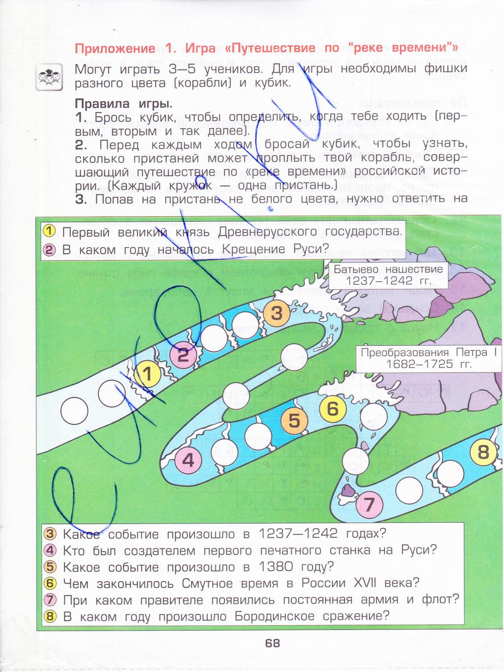 Окружающий Мир 3 Класс Данилов 2 Часть Ответы Решебник