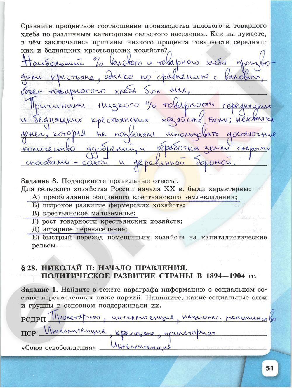 Гдз По Истории 9 Кл Данилов Косулина