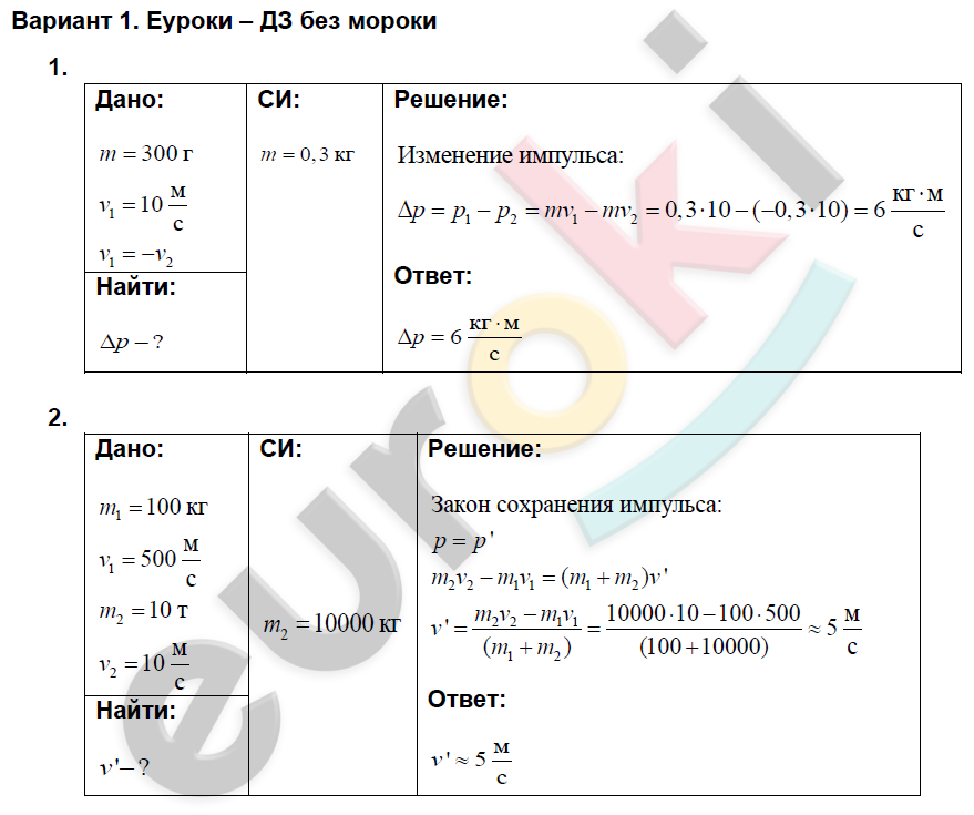 дидактические по 11 физике материалы решебник