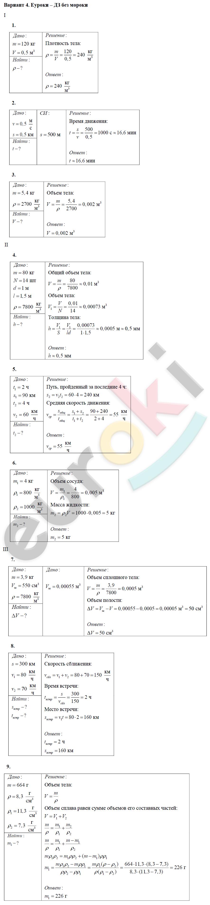Дидактические Материалв По Физике 7 Класм Марон Решебник