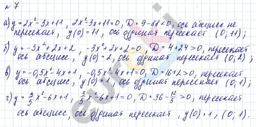 гдз по алгебре дидактические материалы 9 класс евстафьева онлайн