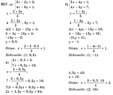 Гдз з математики 7 клас кравчук