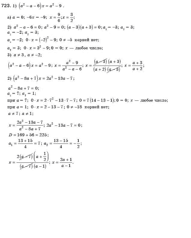 Алгебре готовые класс и якир мерзляк домашние задания 8 полонский