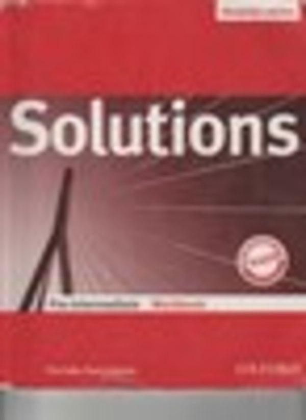 Робочий зошит з англійської мови 7 клас. Solutions Pre-Intermediate